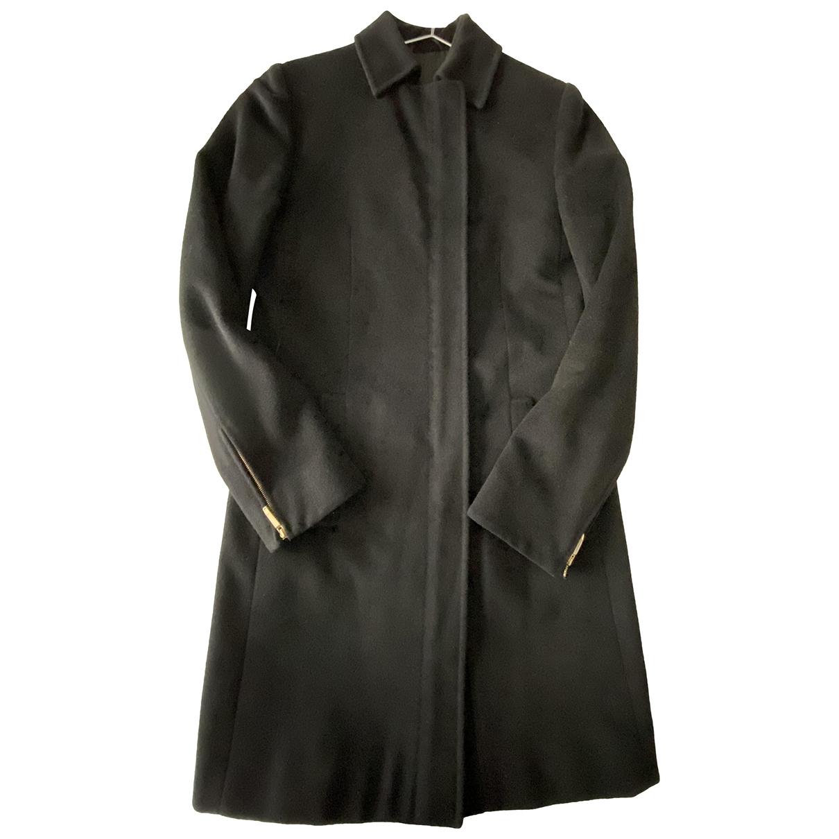 Gucci \N Black Wool coat for Women 38 FR