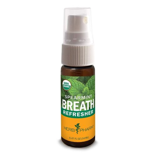 Breath Refresher Spearmint 0.47 oz by Herb Pharm