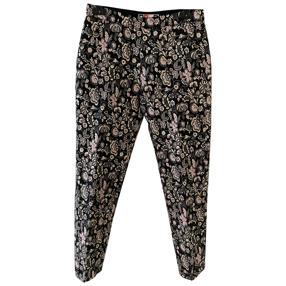 Msgm \N Multicolour Trousers for Women 38 IT