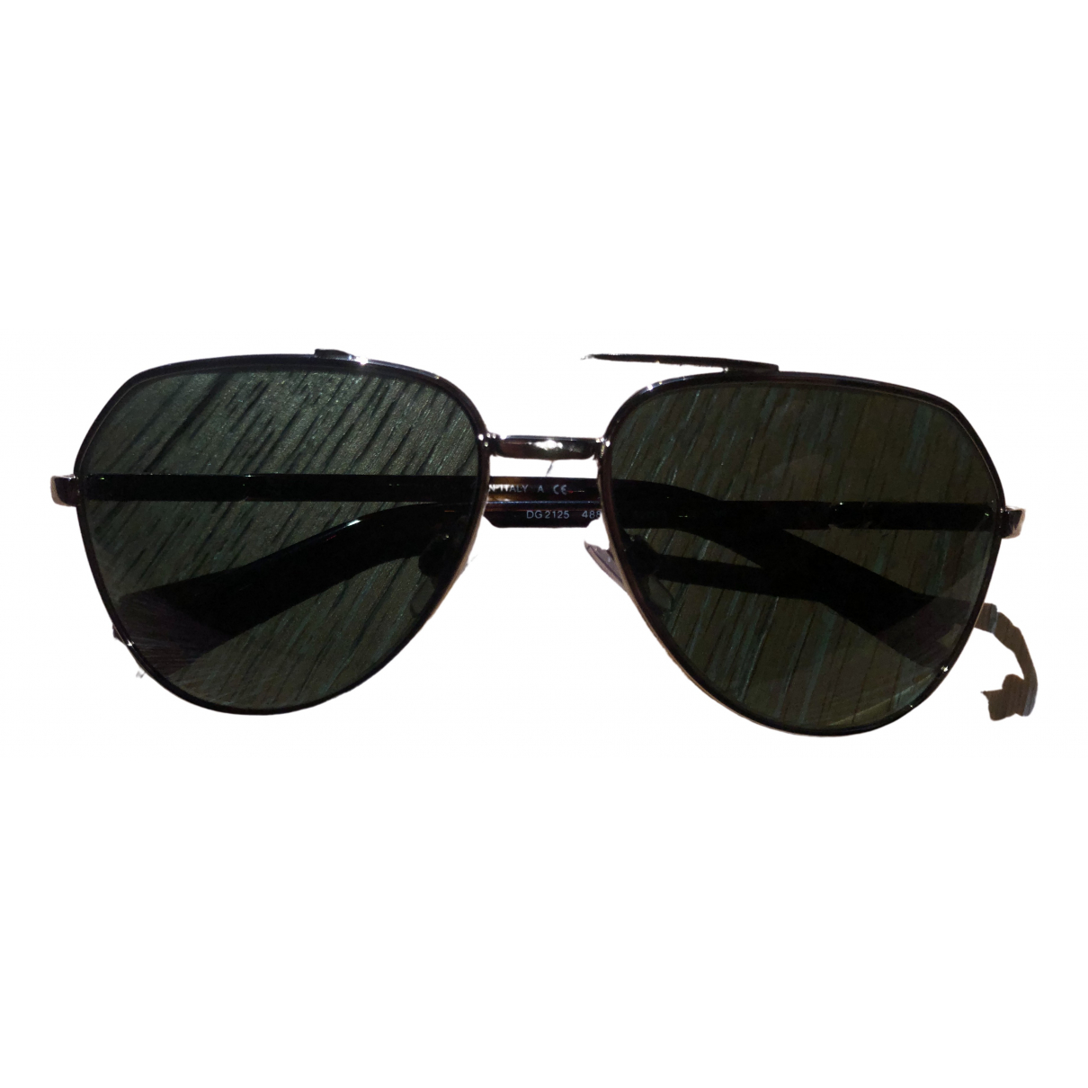 Dolce & Gabbana \N Black Metal Sunglasses for Kids \N