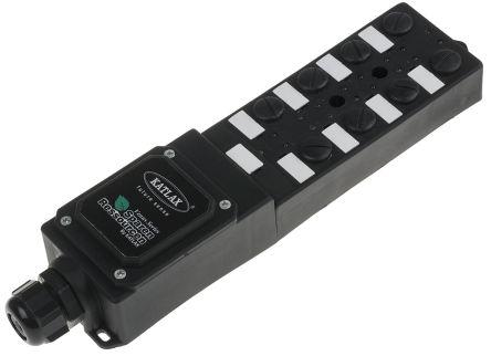 RS PRO M12 Splitter box PNP,5 PIN ,8 Port,Term