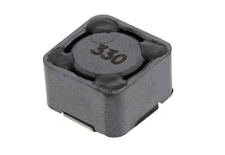 Bourns , SRR1280 Wire-wound SMD Inductor with a Ferrite Core, 33 μH ±20% Wire-Wound 3.5A Idc Q:28 (5)