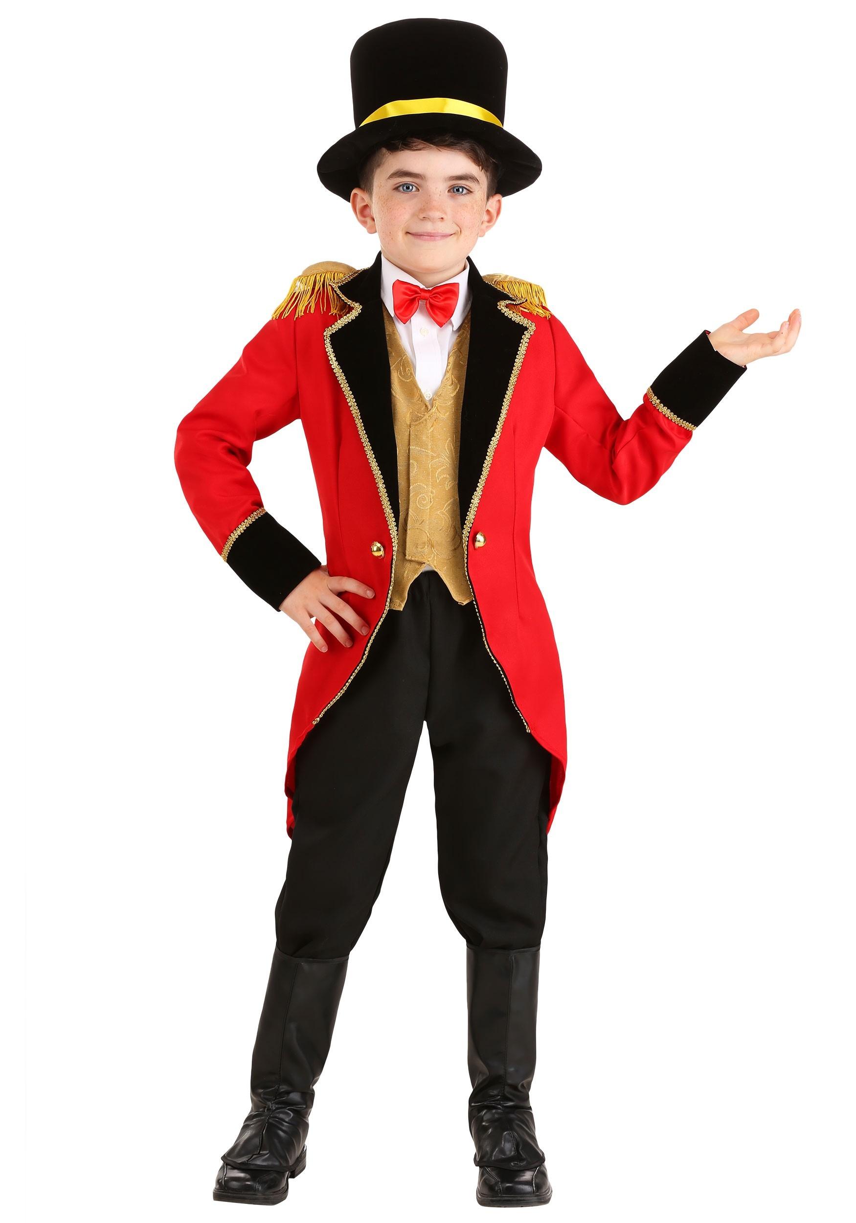 Ringmaster Costume for Kids