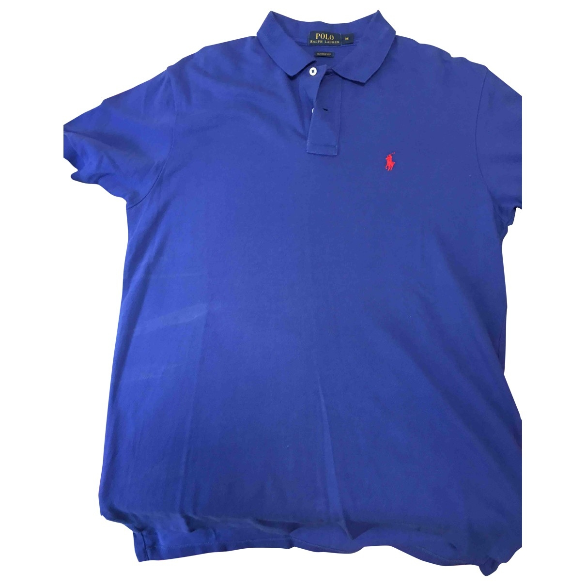 Polo Ralph Lauren \N Blue Cotton T-shirts for Men M International