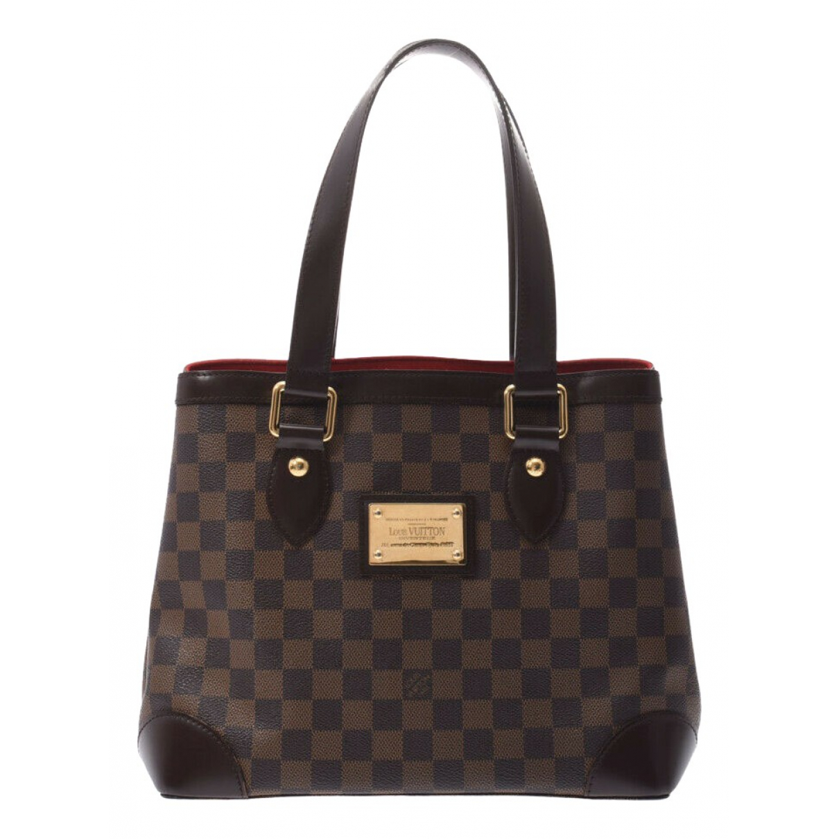 Louis Vuitton Hampstead Brown Cloth handbag for Women \N