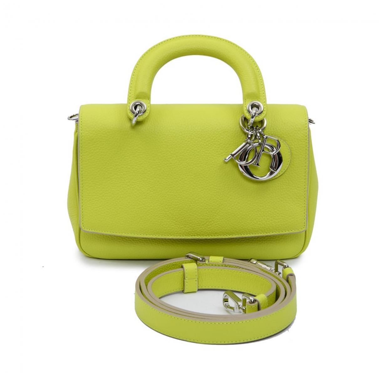 Dior Be Dior Green Leather handbag for Women \N