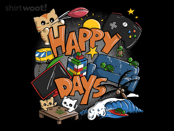 Happy Days T Shirt