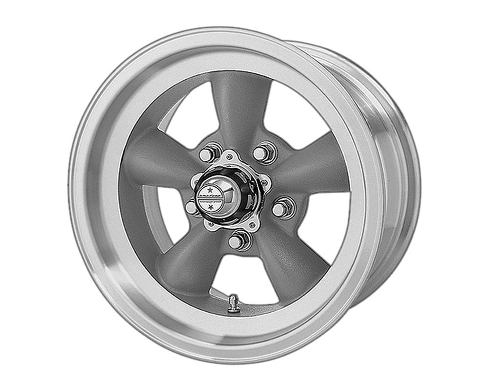 American Racing VN105 Torq Thrust D Wheel 15x7 5x5x127 -6mm Torq Thrust Gray Machined Lip