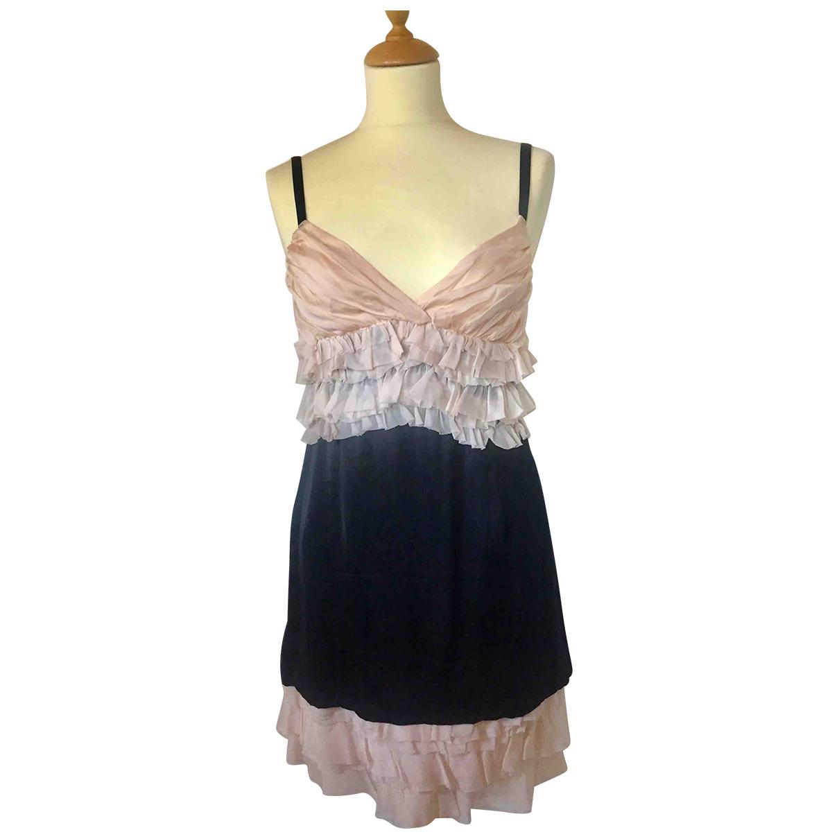 D&g \N Black Silk dress for Women 42 IT