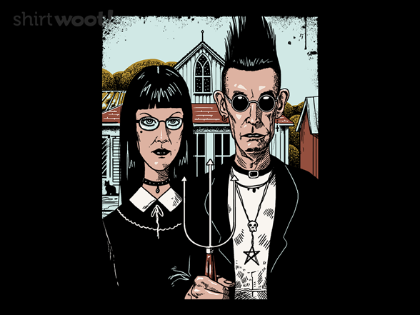 American Goth T Shirt