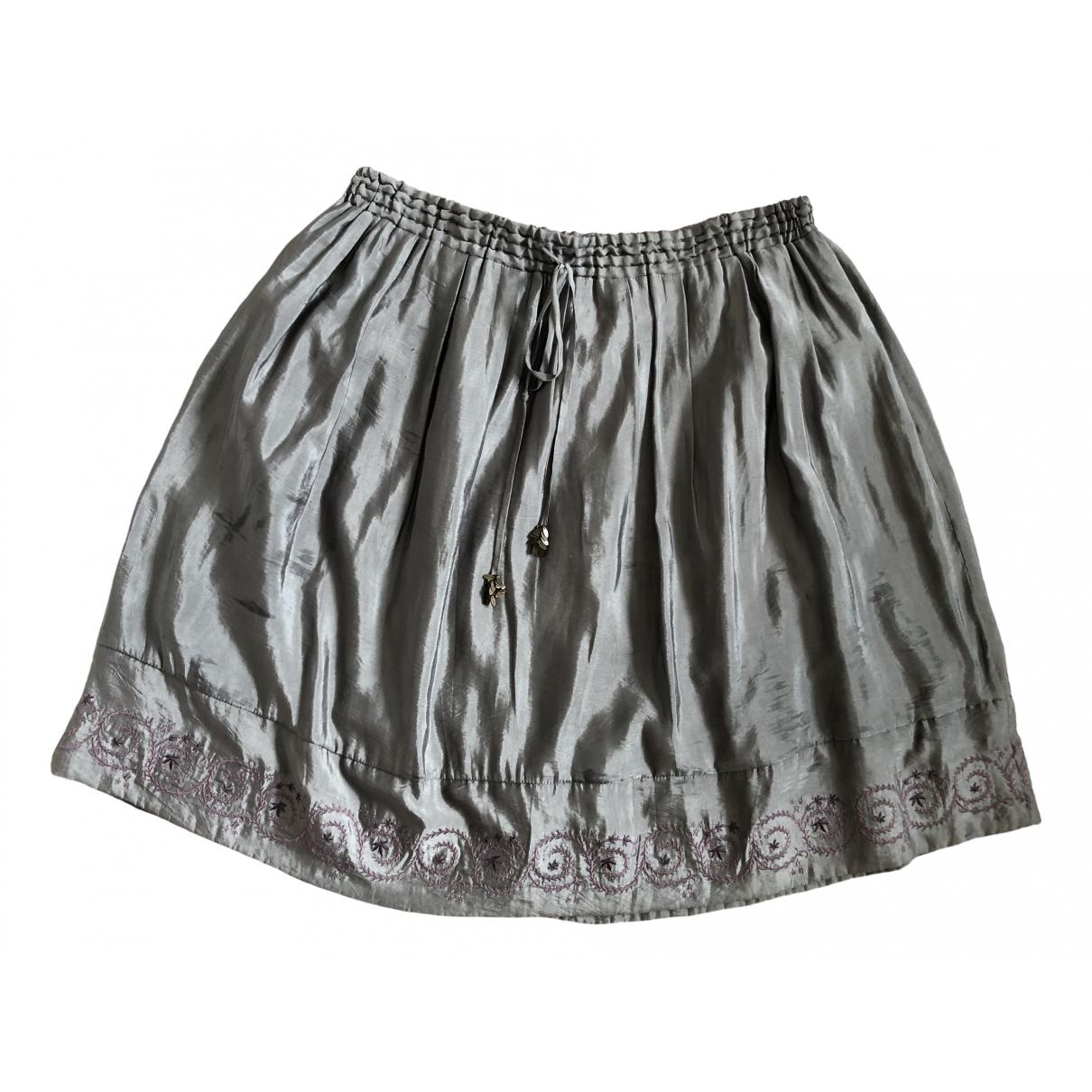 Zadig & Voltaire \N Grey skirt for Women 36 FR