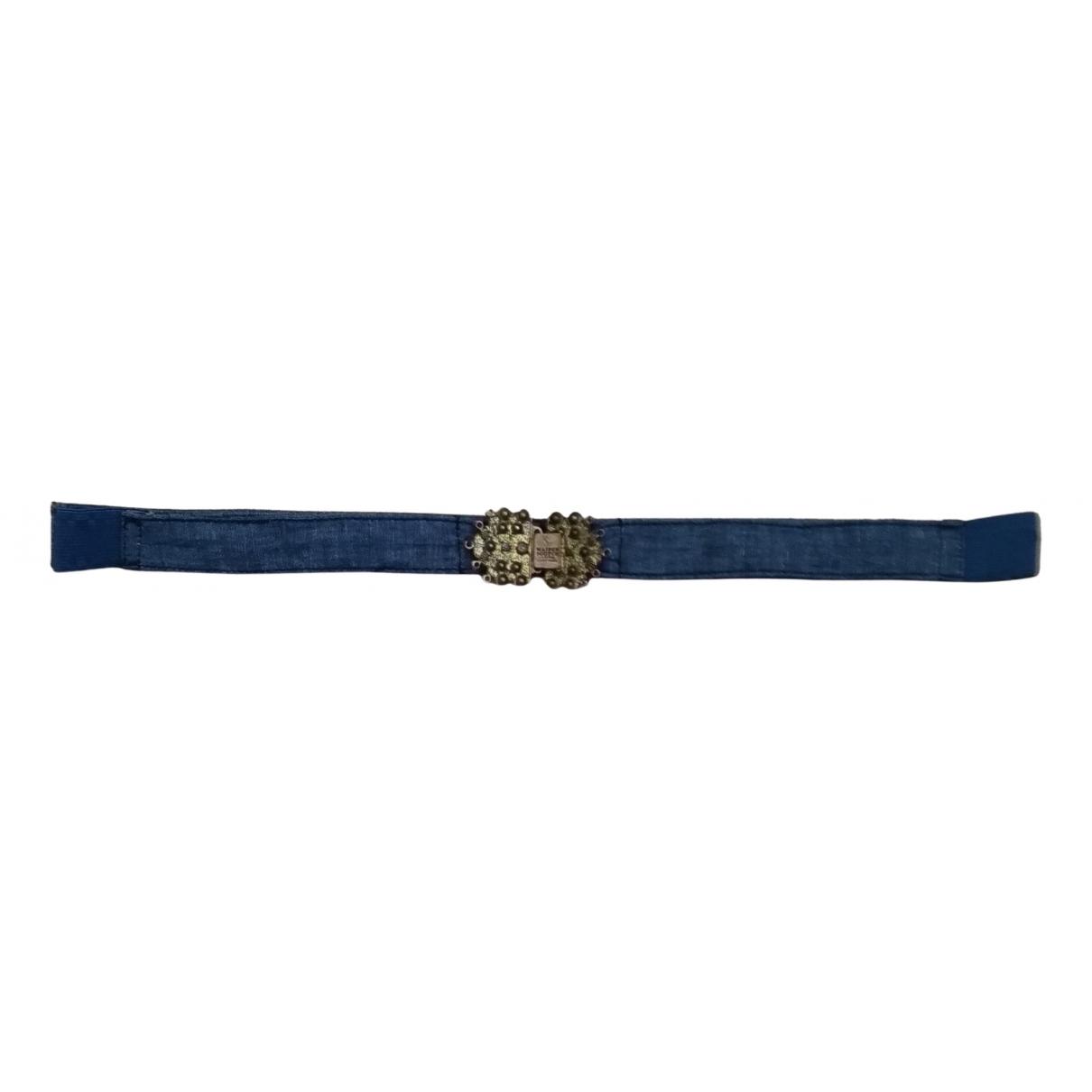 Maison Scotch \N Blue Cotton belt for Women S International