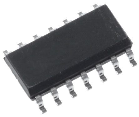 Maxim Integrated MAX4314ESD+ , 4-Channel Video Amplifier IC, 127MHz 430V/μs Rail to Rail O/P, 14-Pin SO (50)
