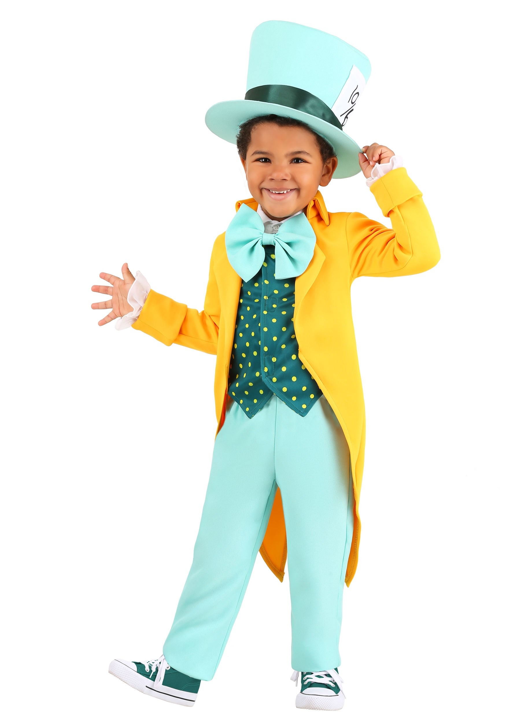 Bright Mad Hatter Toddler's Costume