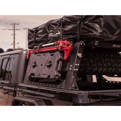 Road Armor TRECK High Lift Jack Mount (Black) - 500BRS-HLM
