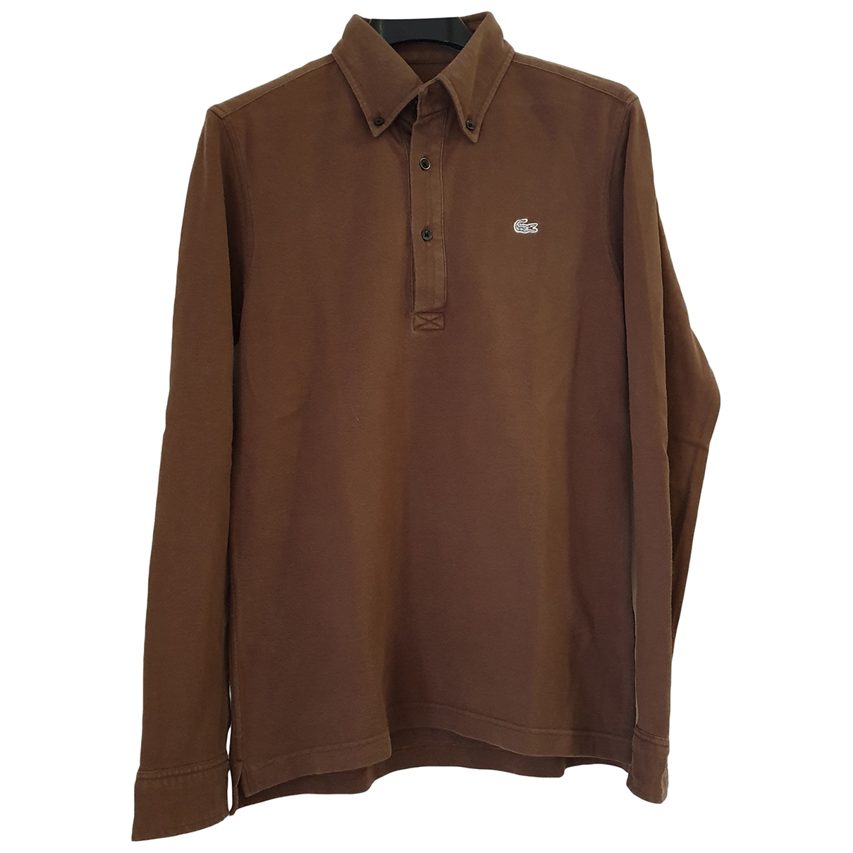 Lacoste \N Brown Cotton Polo shirts for Men S International