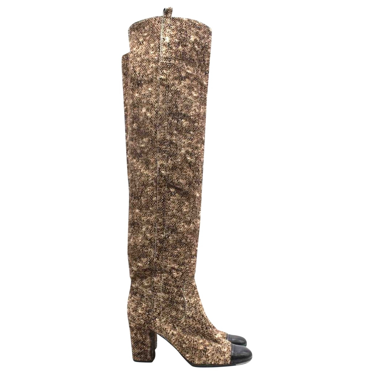 Chanel \N Multicolour Pony-style calfskin Boots for Women 40 EU