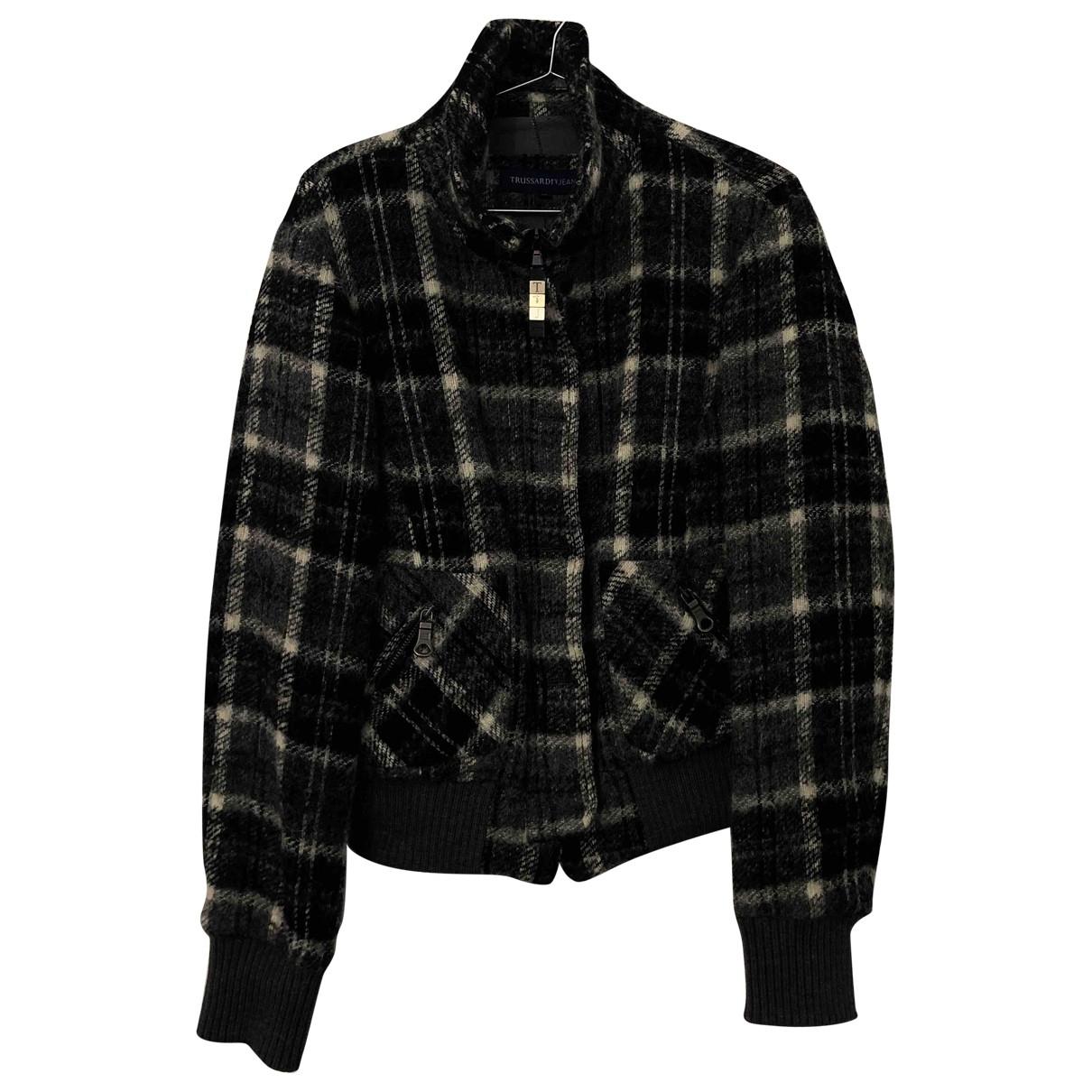 Trussardi Jeans \N Multicolour Wool jacket for Women 46 IT
