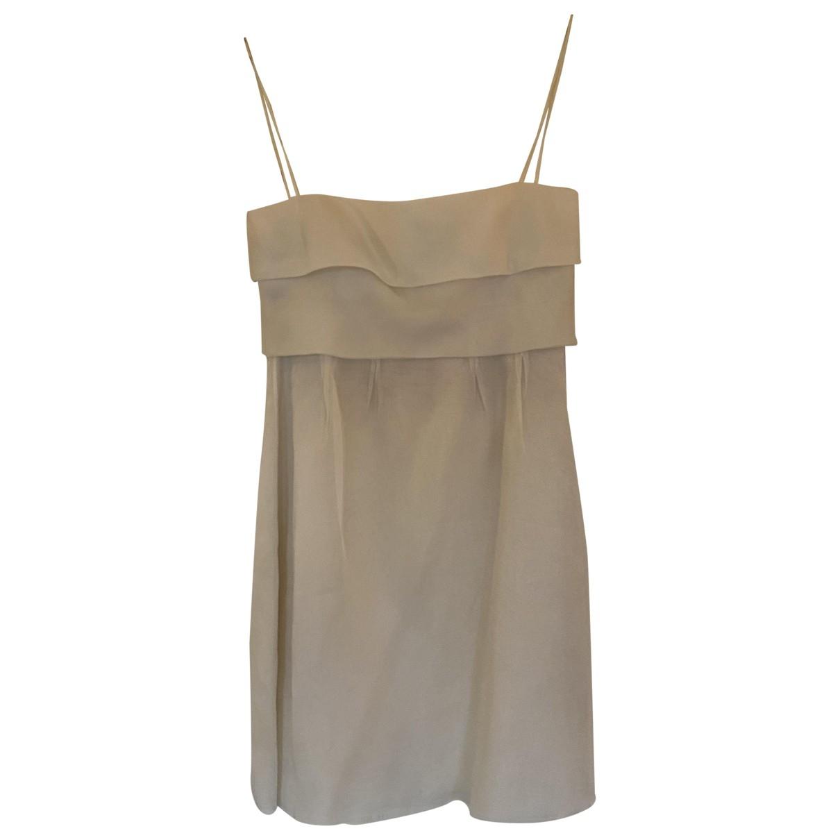 Valentino Garavani \N White Silk dress for Women 6 US