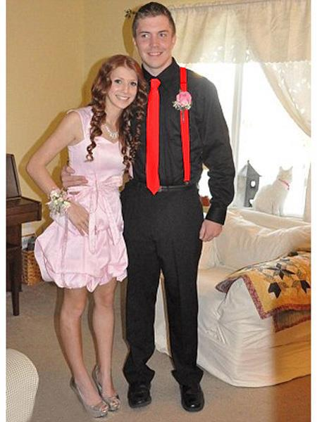 High7School Homecoming Outfits For Guys Casual Package Red