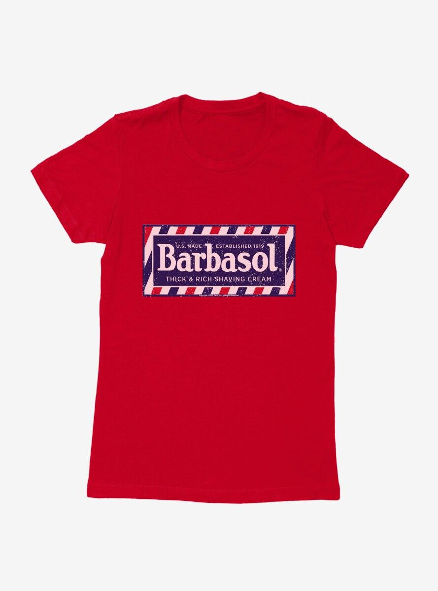 Barbasol Shaving Cream Womens T-Shirt