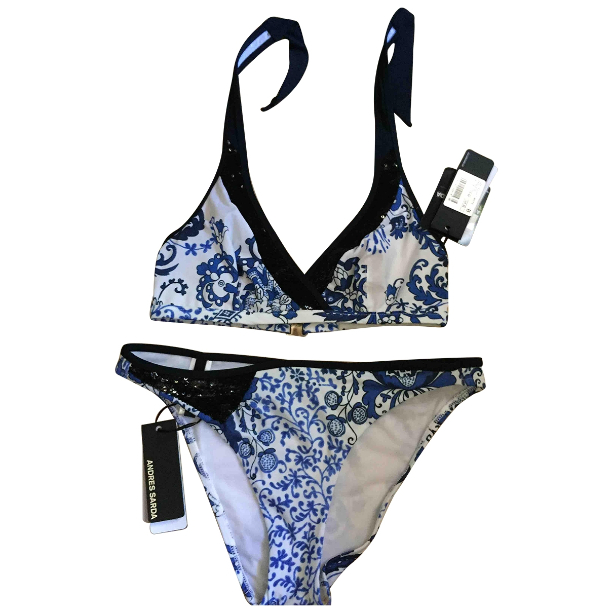 Andres Sarda \N Cotton - elasthane Swimwear for Women 38 FR