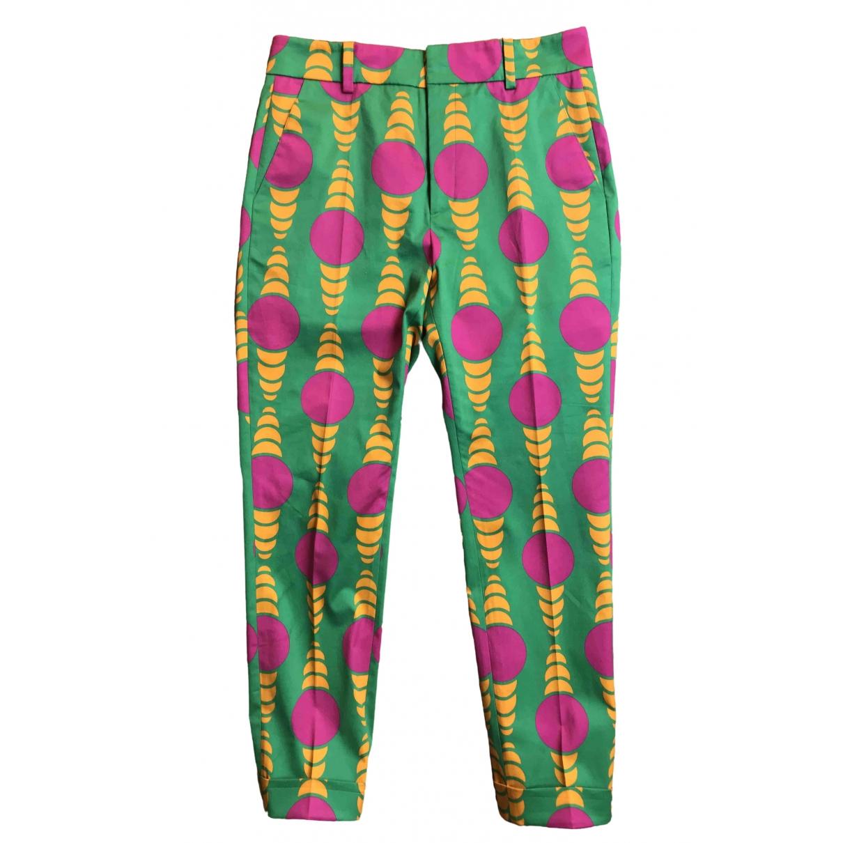 La Double J \N Multicolour Cotton Trousers for Women S International