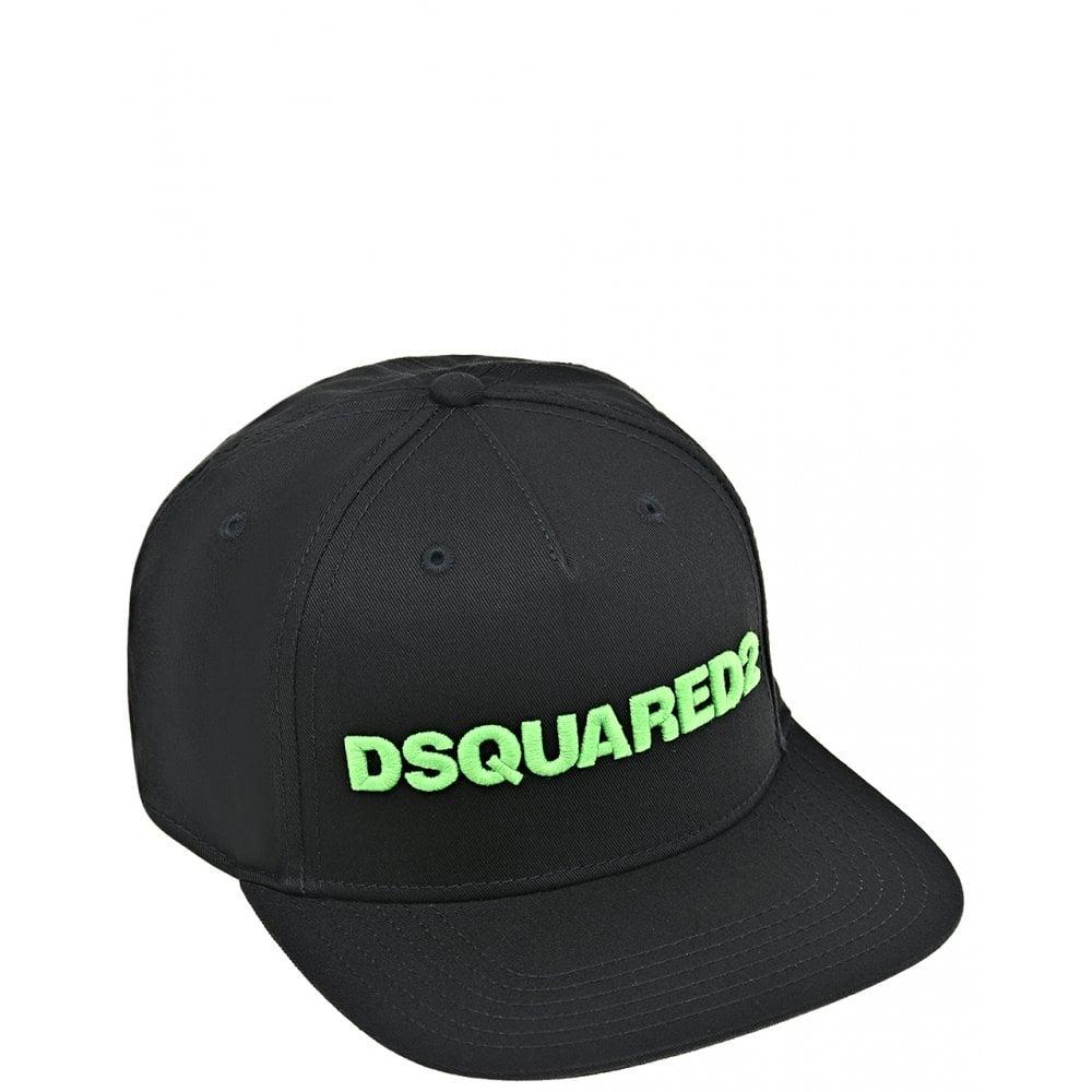 Dsquared2 Logo Cap Colour: BLACK, Size: 3