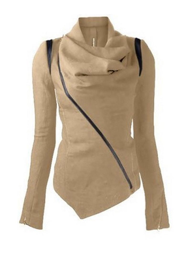 Ericdress Zipper Zipper Regular Winter Standard Hoodie