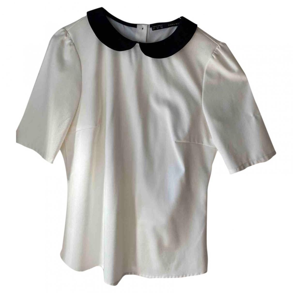 Zara \N White  top for Women M International