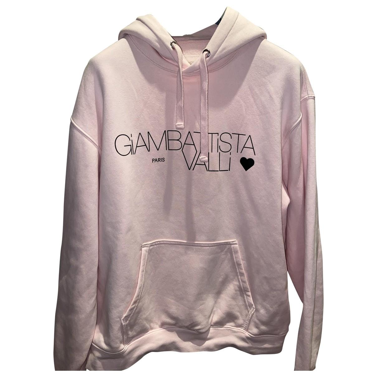 Giambattista Valli X H&m \N Pink Cotton Knitwear & Sweatshirts for Men M International