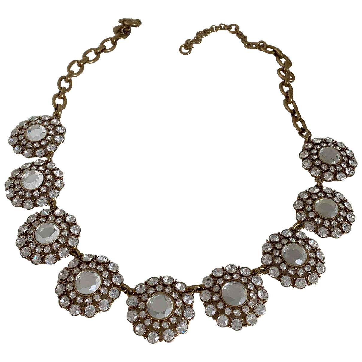 J.crew \N Gold Gold plated necklace for Women \N