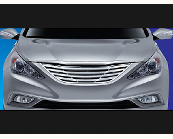Quality Automotive Accessories ABS | Chrome Stainless Billet Grille Hyundai Sonata 2011