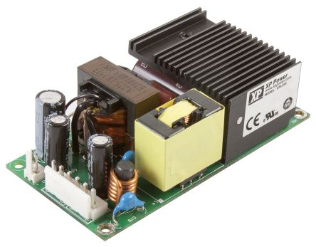 XP Power , 225W AC-DC Converter, 28V dc, Open Frame, Medical Approved