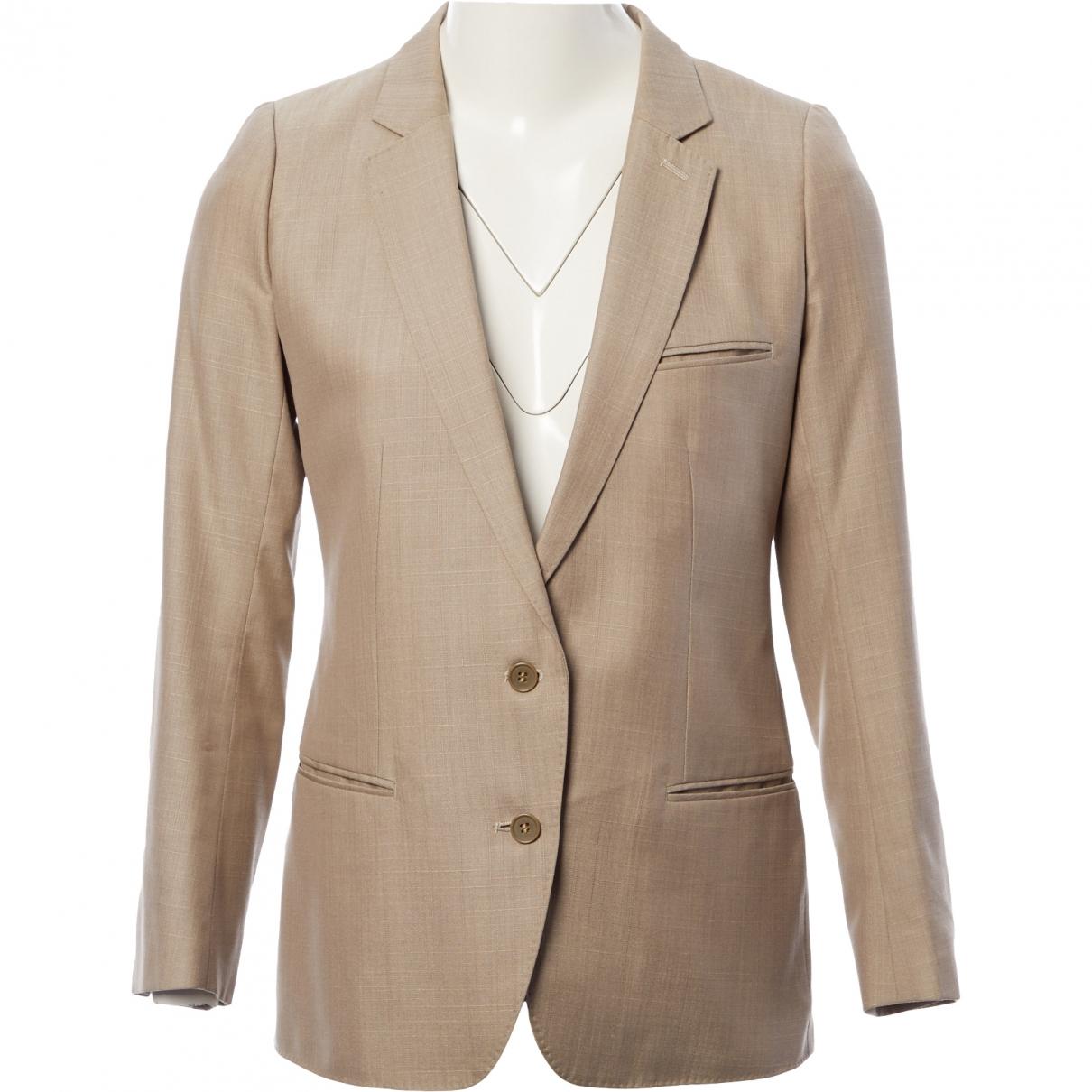 Lemaire \N Beige Silk jacket for Women 3 0-5