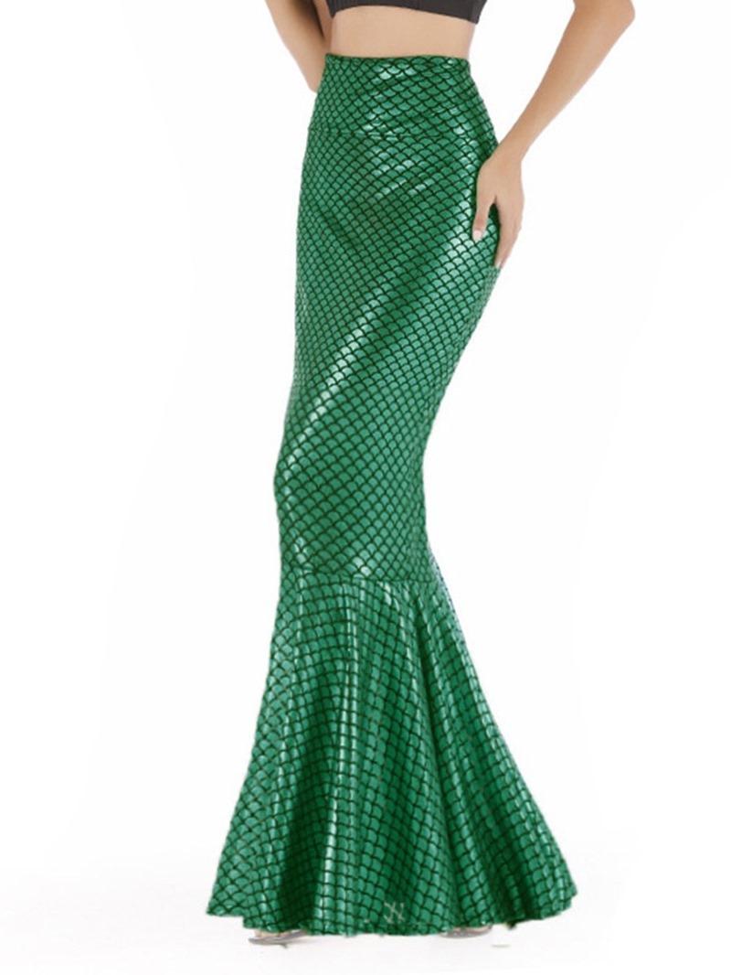 Ericdress Mermaid Stretchy Floor-Length Sexy Party Skirt