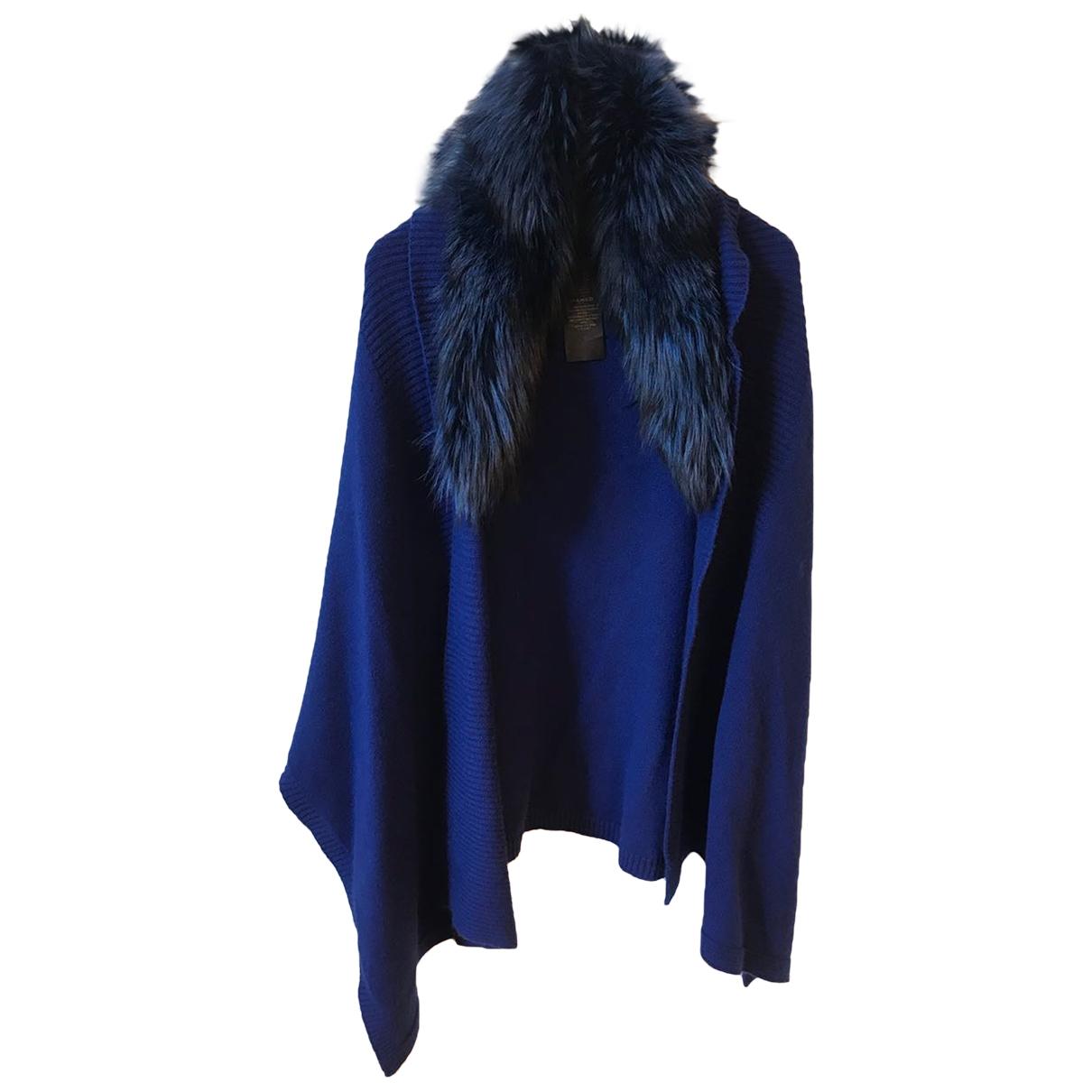 Yves Salomon \N Blue Knitwear for Women One Size International