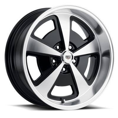 109 Magnum 17X9 5X120.65 0MM Machined/Gloss Black Machined Aluminum Wheels 109 Classic Magnum Series REV Wheels 109MB-7906100