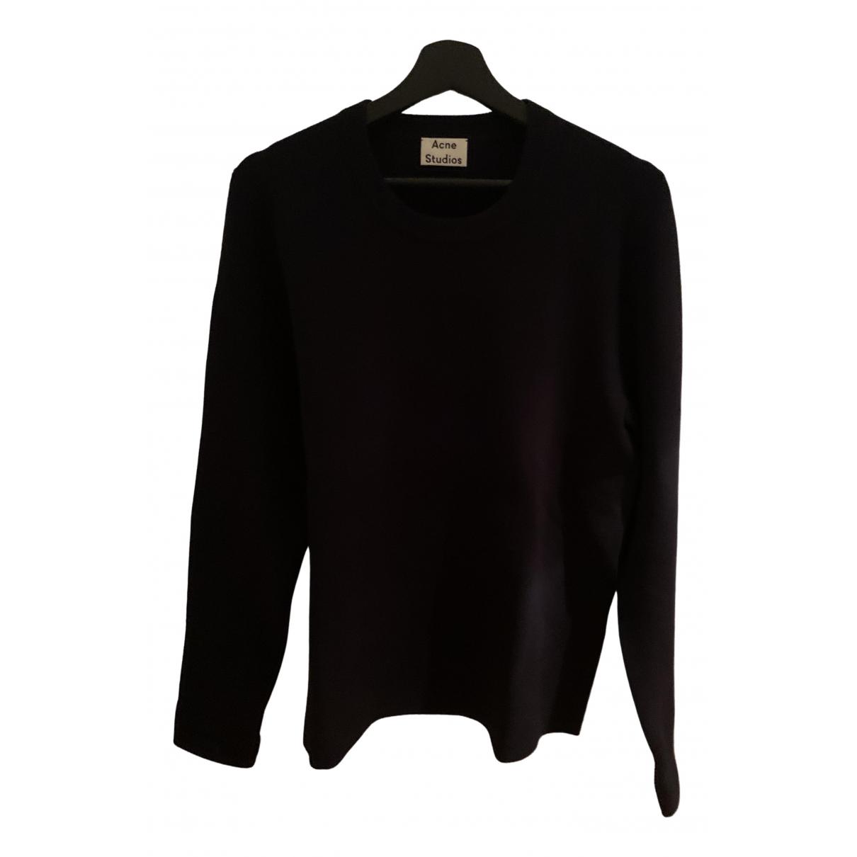 Acne Studios \N Black Knitwear & Sweatshirts for Men M International