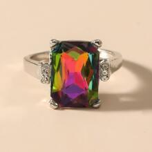 Gemstone Decor Ring