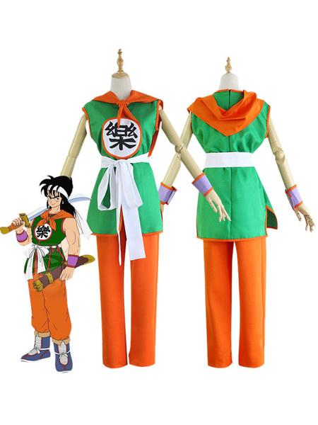 Milanoo Dragon Ball Yamcha Halloween Cosplay Costume