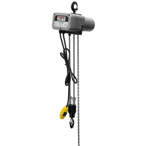 Jet 1/4-Ton Electric Chain Hoist 1-Phase 10' Lift