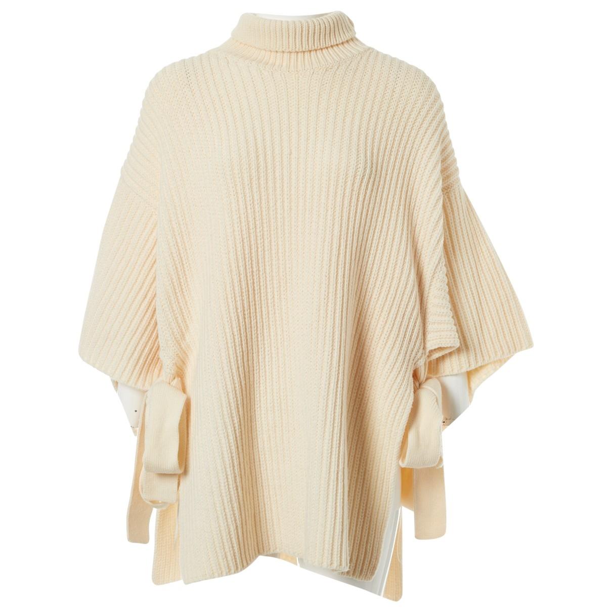 Sport Max \N Ecru Wool Knitwear for Women M International