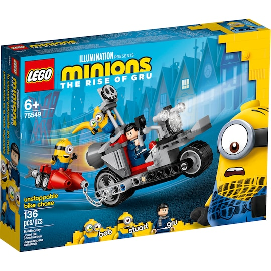 Lego® Minions Unstoppable Bike Chase Set | Michaels®