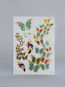 1pc Butterfly Pattern Tattoo Sticker