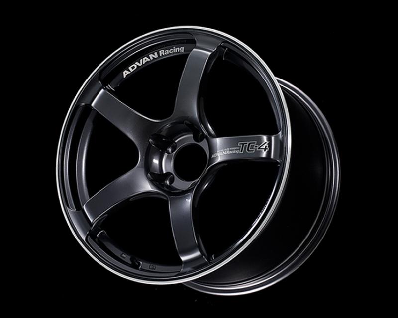 Advan TC4 Wheel 18x9.5 5x114.3 35mm Racing Gunmetallic & Ring