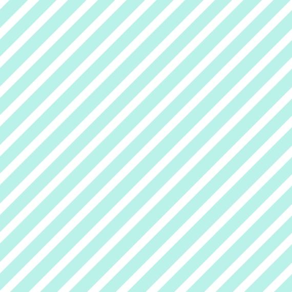 Non Photo Collage Canvas Print, 12x12, Home Décor -Aqua Stripes