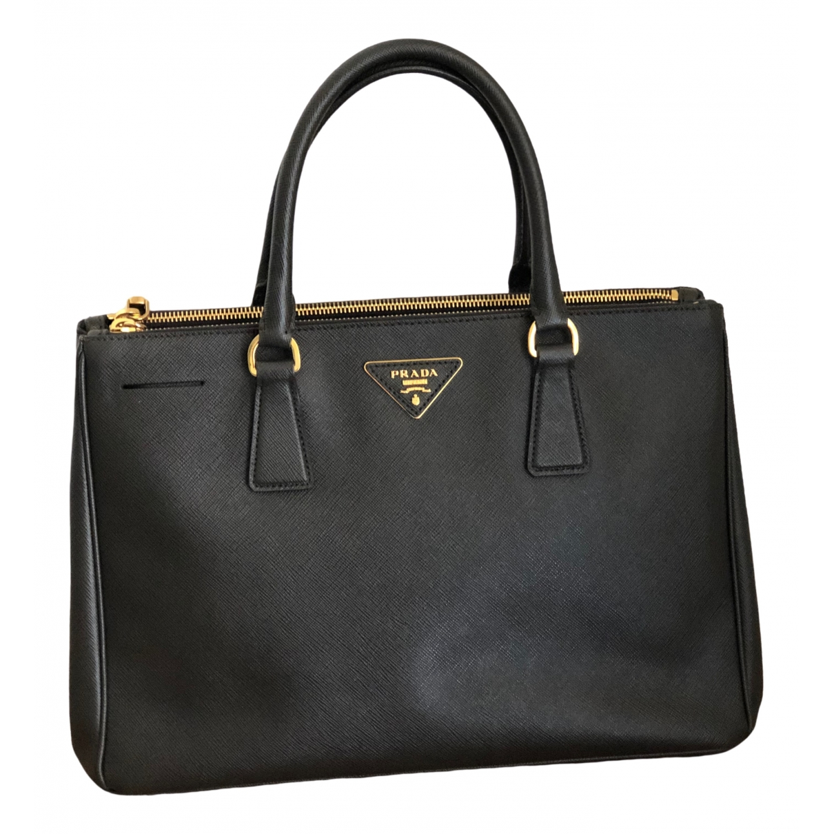 Prada Galleria Green Leather handbag for Women \N