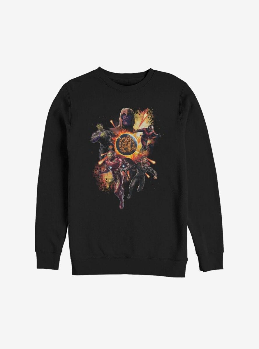 Marvel Avengers: Endgame Planet Explosion Sweatshirt