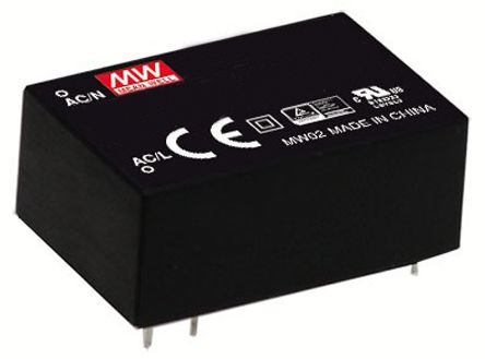 Mean Well , 1W Encapsulated Switch Mode Power Supply, 3.3V dc, Encapsulated